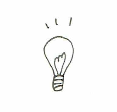 イラスト 電球